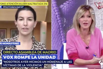 La lección de Rocío Monasterio sobre las mujeres maltratadas que desmonta las mentiras de los medios progres sobre VOX