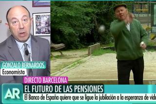"""El Quilombo / Bernardos advierte del apocalipsis de las pensiones: """"Olvídense de jubilarse antes de los 70 años, no podéis pretenderlo todo"""""""