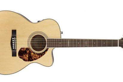 Si quieres una acústica de máxima calidad y brillo, sin duda, la Fender PM-3limitada MH es tu guitarra