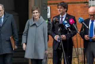 Dios los cría y el separatismo los junta: Boye, el condenado por colaboración con ETA, y su mujer se reparten la defensa de los golpistas