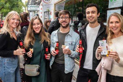 """La italiana 'lasaña al pesto rojo', Mejor Tapa """"Tapapiés 2019"""""""