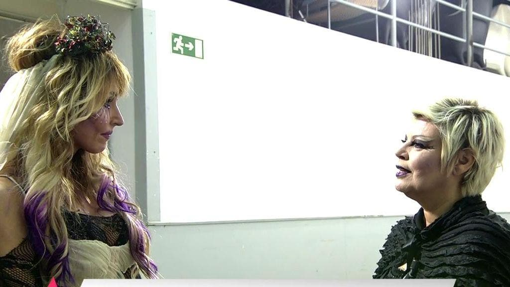 Terelu Campos se niega a entrar en el plató de 'Sálvame', aún no habiendo nadie