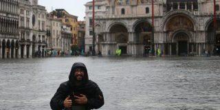 ¡Catástrofe!: Venecia inundada por la segunda marea más alta de la historia