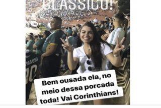 Vídeo Viral: Esta aficionada brasileña se infiltra en una grada rival y la echan a golpes tras descubrirla gracias a Instagram