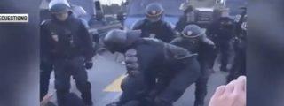 Vídeo Viral: La Policía francesa disuelve en el acto a los cuatro separatistas de turno que bloqueaban un paso fronterizo entre España y Francia