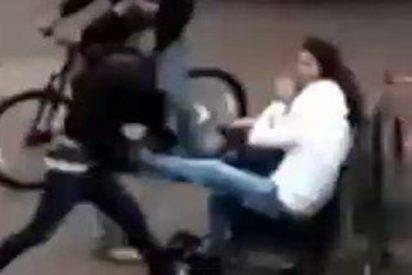 Vídeo viral: Así fue la brutal paliza a una joven con la que Vox denuncia las agresiones machistas en Europa