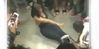 Vídeo viral: Esto es lo que pasa cuando llevas peluca y te metes hacer coreografías locas con el bruto de tu novio…