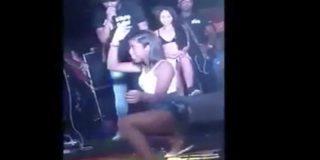 Indignación por este vídeo en la que un novio celoso patea a su novia mientras hacía 'twerking'
