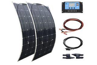 Si buscas paneles solares buenos, bonitos y baratos, te recomendamos XINPUGUANG 200W kit 2 unidades de 100 w