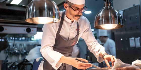 Julio Miralles, chef de Zalacaín, premio al Mejor Cocinero del Año