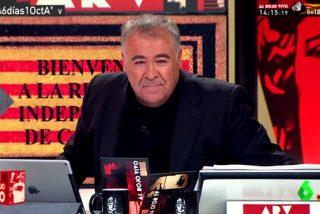 Ferreras difunde una 'fake new' sobre el 'Tsunami indepe' y las redes le cazan y humillan a laSexta