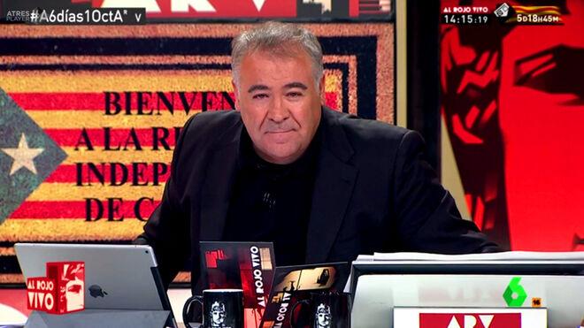Ferreras difunde una 'fake news' sobre el 'Tsunami indepe' y las redes le cazan y humillan a laSexta