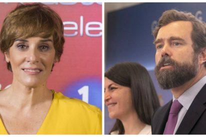 La 'guerracivilista' Anabel Alonso acusa a Espinosa de los Monteros de reírse de los muertos del franquismo y en Twitter la ponen contra el paredón