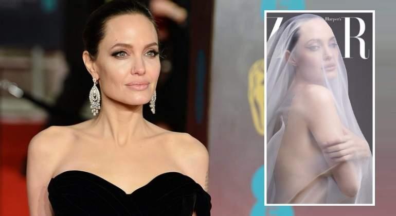 Angelina Jolie posa completamente desnuda