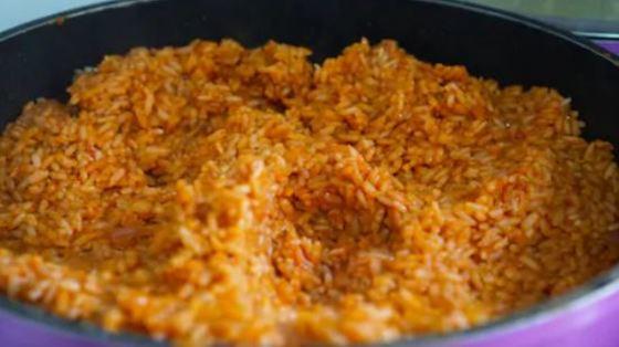 Arroz Jollof, receta africana