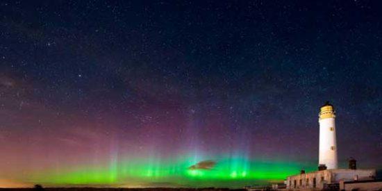 """¿Puedo ver """"Auroras boreales"""" en Escocia?"""
