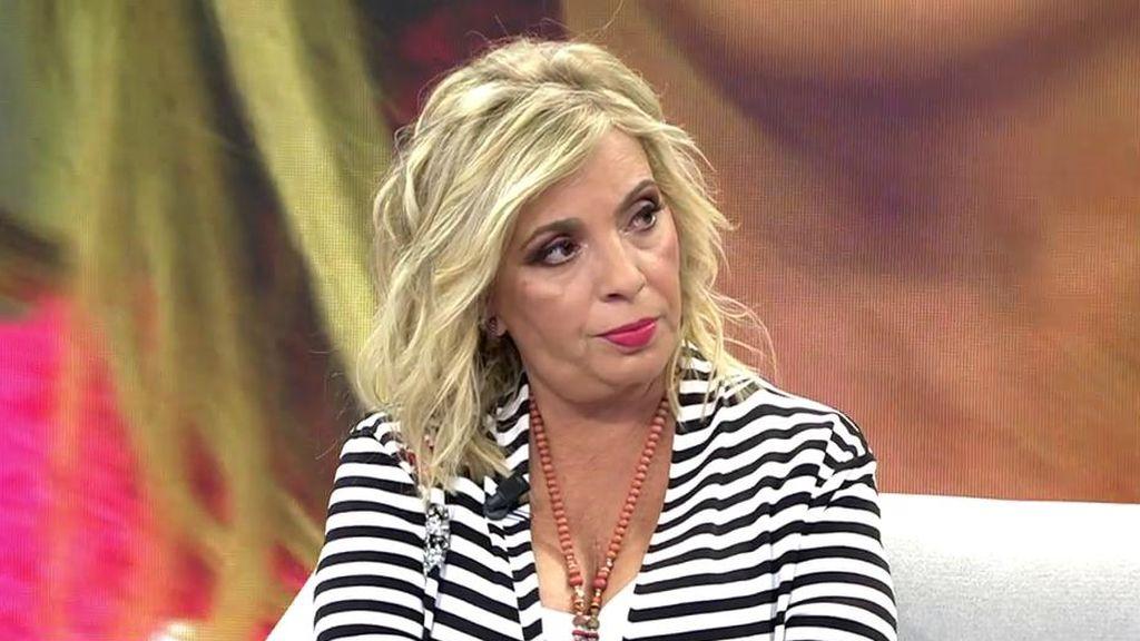 Carmen Borrego se quita la máscara con sus antiguos compañeros de 'Sálvame'