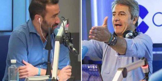 """Juanma Castaño se harta de los desprecios de Lama y lo manda a pastar en directo: """"¡Llevas amenazando mucho tiempo!"""""""