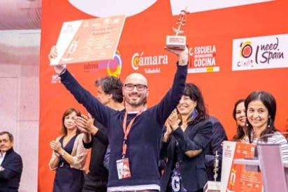 Chema Soler, subcampeón del XV Concurso Nacional de Pinchos y Tapas 2019