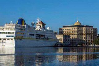 A pesar del bloqueo, La Habana recibe el primer crucero de la temporada