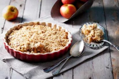 Crumble receta original