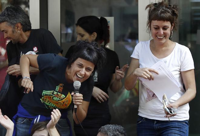 La trama de la CUP para 'meter' en el Congreso a Anna Gabriel y apoyar a Pedro Sánchez y Pablo Iglesias