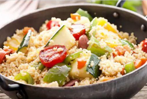 Cuscús de verduras fácil