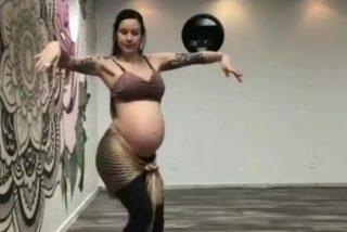 Así es la hipnótica danza del vientre de una bailarina embarazada que arrasa en Instagram