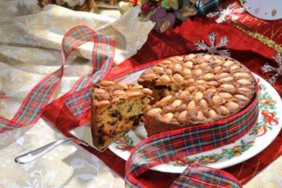 Dundee cake escocés