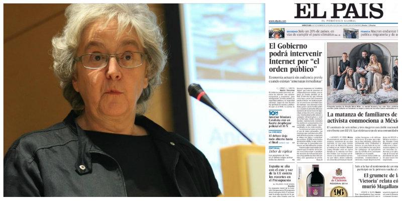 El País toma por imbéciles a sus lectores con un impagable favor a Pedro Sánchez