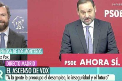 Sublimes 'risotadas' de Espinosa de los Monteros (Vox) a costa de las bobadas deleznables de Ábalos