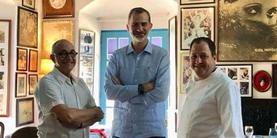 El Chef que atendió a los Reyes de España en La Habana cuenta su experiencia