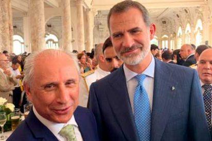 El Rey Felipe VI ratifica decidido apoyo a empresarios de España en Cuba
