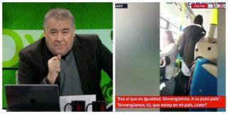 El Quilombo / Ferreras cruza todas las líneas rojas al relacionar al energúmeno racista del autobús con VOX: