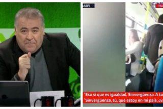 """El Quilombo / Ferreras cruza todas las líneas rojas al relacionar al energúmeno racista del autobús con VOX: """"¡Esto les alimenta!"""""""