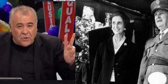 Exhuman la dignidad de laSexta por llevarse las manos a la cabeza con la herencia de Franco: