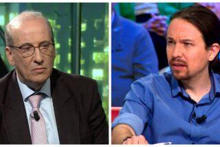 El cobarde Pablo Iglesias quiso vetar a Francis Franco en 'laSexta Noche' pero huyó como un perro cuando este fue a pedirle explicaciones