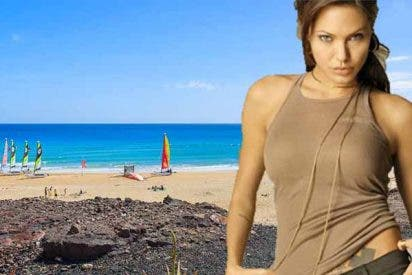 Hallan una bomba en Fuerteventura y evacúan inmediatamente a Angelina Jolie del set de rodaje de su próxima película