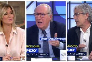 Gay de Liébana entierra en 15 segundos la imposición del catalán defendida por Bolaño y Griso: