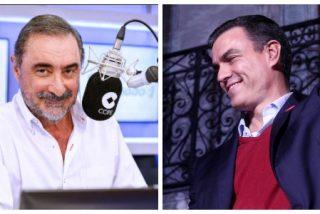 """Carlos Herrera se rebota con Sánchez y las """"lumbreras de sus ministros"""" tras su último desplante al Rey"""