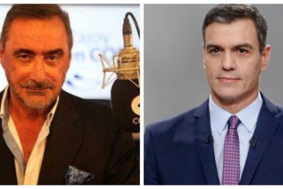 """Carlos Herrera cruje a Pedro Sánchez por el nuevo giro del 'caso Ábalos': """"Su Gobierno es el más embustero"""""""
