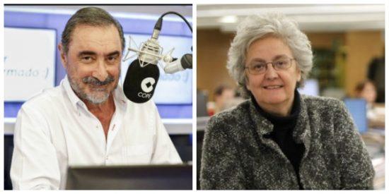 """Carlos Herrera se parte de risa de las contorsiones de El País con los ERE: """"Al editorialista habrá que llevarle al traumatólogo"""""""