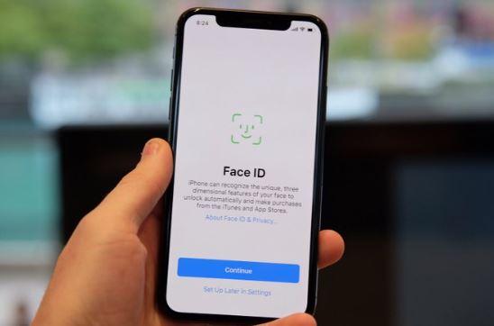 iPhone X reconocimiento facial con inteligencia artifical