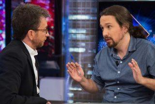 """Los 'palmeros' de Iglesias critican a Pablo Motos por hacerle esta oportuna pregunta sobre Amancio Ortega: """"¿Tienes algún familiar con cáncer?"""""""