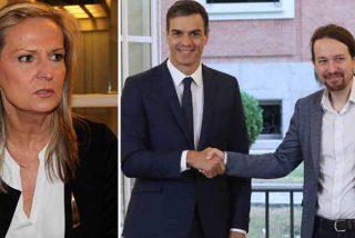 """Isabel San Sebastián detalla el maquiavélico plan del Gobierno del Frente Popular para acabar con la Nación, """"cuando no quede nadie para defenderla"""""""