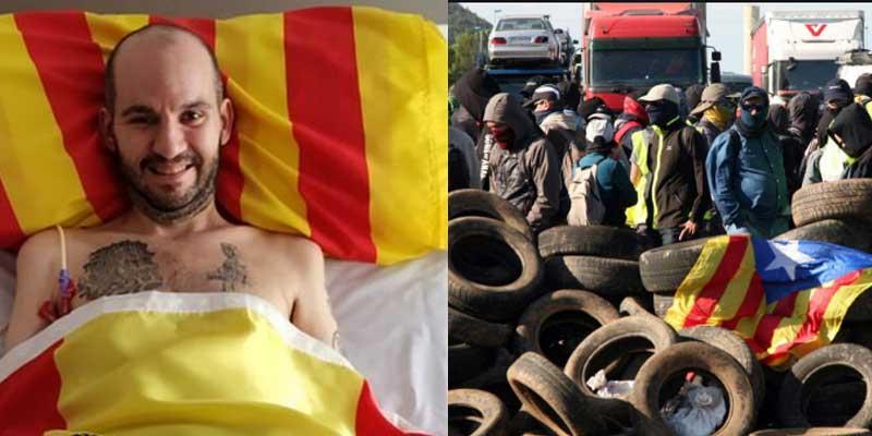 """El trágico lamento de este valiente catalán enfermo de ELA que debería avergonzar a Quim Torra y a sus CDR: """"Parece que el único problema es la independencia"""""""