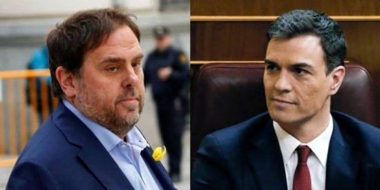 """La aplaudida afirmación que toda España se hace: """"Un enemigo de España, con solo 13 diputados, decide nuestro futuro por la felonía de Sánchez"""""""