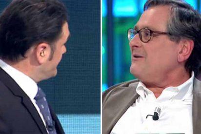 """Marhuenda borra la sonrisa bobalicona a Iñaki López: """"¡Me voy a partir de risa cuando nos peguen la leche en los impuestos!"""""""
