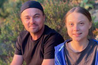 """Leonardo DiCaprio sobre Greta Thunberg: """"es la líder de nuestro tiempo"""""""