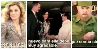 El Quilombo / Peñafiel aprovecha el viaje a Cuba de los reyes para 'picarse' con Letizia: